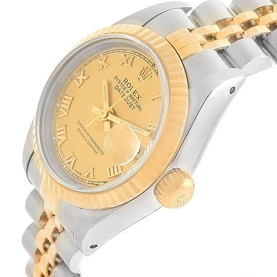 Rolex Rolex Datejust 26 Steel Yellow Gold Roman Dial Ladies Watch 69173 Image 1