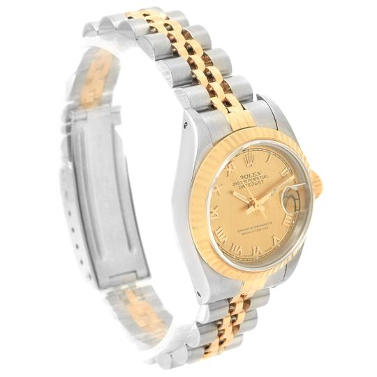 Rolex Rolex Datejust 26 Steel Yellow Gold Roman Dial Ladies Watch 69173 Image 3