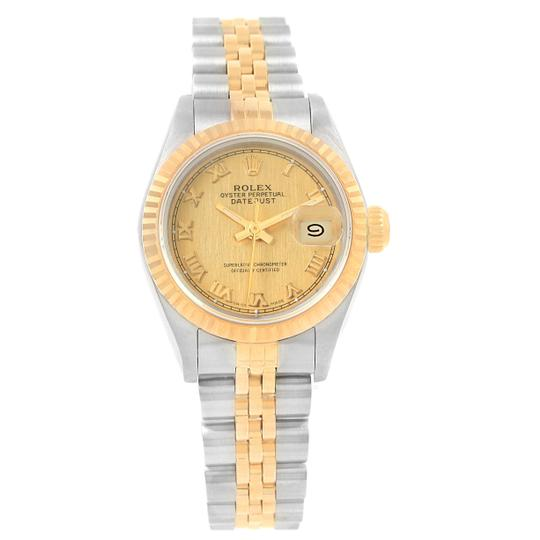 Rolex Rolex Datejust 26 Steel Yellow Gold Roman Dial Ladies Watch 69173 Image 6
