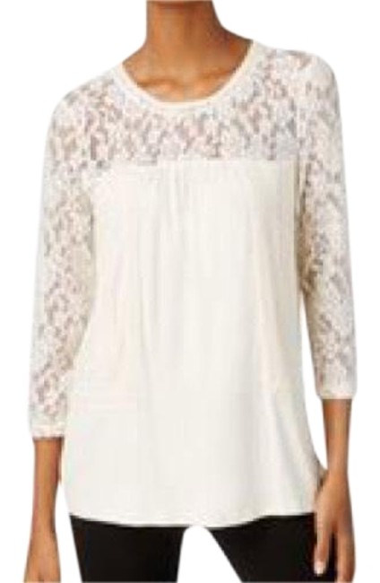 Preload https://img-static.tradesy.com/item/22714426/cable-and-gauge-ivory-lace-trim-blouse-size-12-l-0-3-650-650.jpg