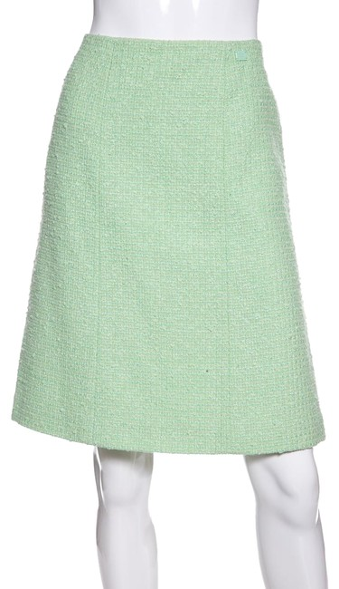 Chanel Skirt Mint Green Image 0