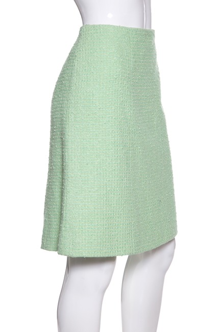 Chanel Skirt Mint Green Image 1