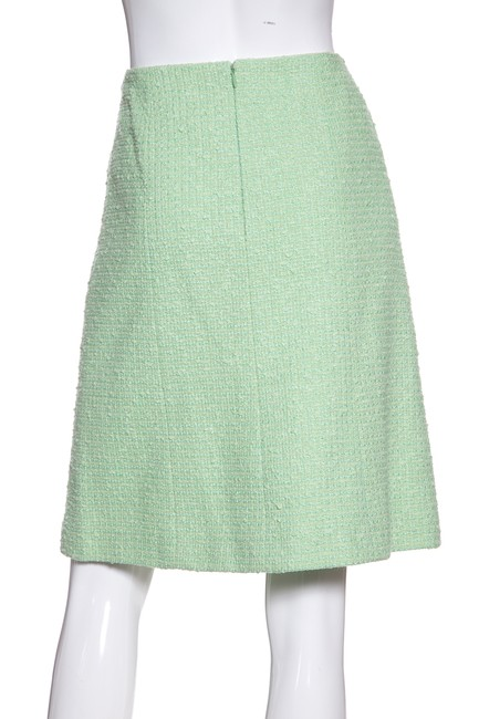 Chanel Skirt Mint Green Image 2