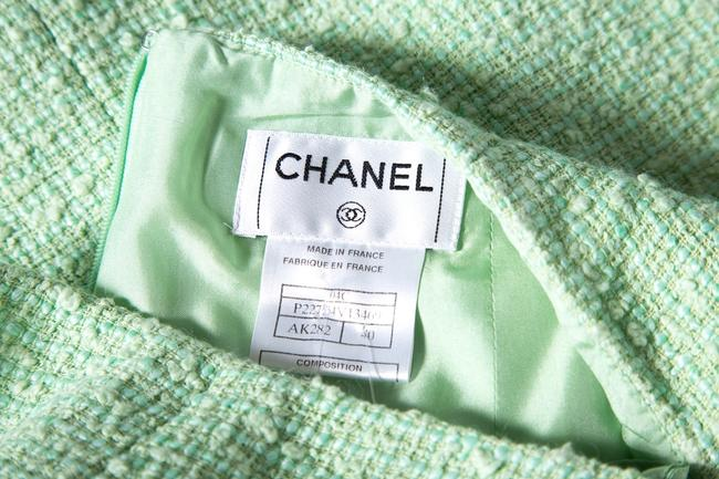 Chanel Skirt Mint Green Image 5