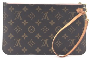 Louis Vuitton #16271 *Rose Ballerine* Monogram Clutch