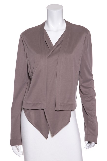 Item - Taupe Bcbg Max Azria Knit Open-front Knit Cardigan Size 8 (M)