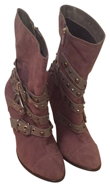 Item - With Buckles and Studs Boots/Booties Size EU 37 (Approx. US 7) Regular (M, B)