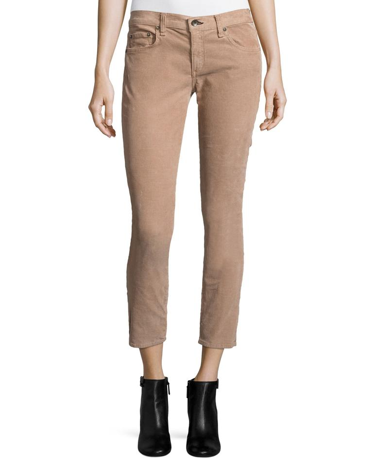 fc882f58829e27 Rag   Bone Jeans Trousers Suede Theory Vince Straight Pants Tan Image 0 ...