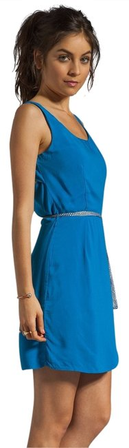 Jack by BB Dakota short dress Blue on Tradesy