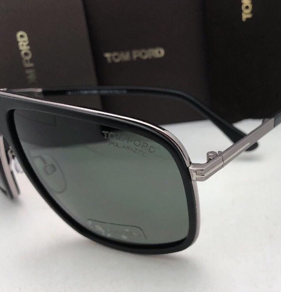 1d2e10b1a9 Tom Ford Polarized TOM FORD Sunglasses QUENTIN TF 463 02R 60-13 Black w .  123456789101112