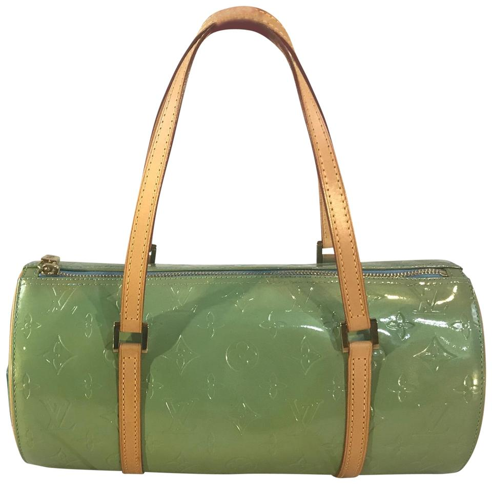 700cb2096aed Louis Vuitton Papillon Bedford Retired Monogram Vernis Blue Green ...