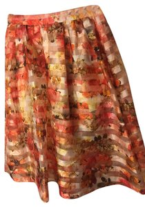 Do & Be & Summer Skirt Orange Beige Gold