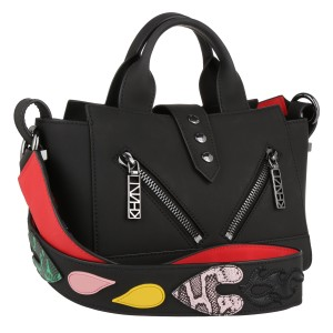 Kenzo Kalifornia Badge Tote in black