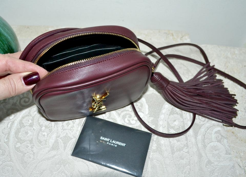 54ec9ff8dd32 Saint Laurent Ysl Monogram Blogger Tassel Cross Body Bag Image 9.  12345678910