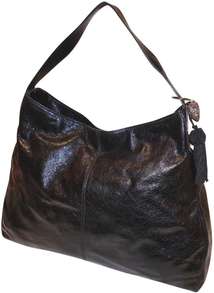 8ed10fe7be Tory Burch Refurbished Patent Leather Extra-large Euc Hobo Bag Image 0 ...