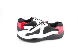 Prada * Americas Cup Patent Sneaker Red / White Shoes