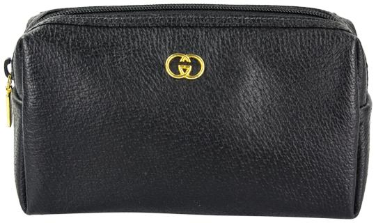 Preload https://img-static.tradesy.com/item/22716716/gucci-black-zip-pouch-cosmetic-bag-0-3-540-540.jpg