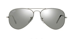 """Ray-Ban RB 3025 """"FREE 3 DAY SHIPPING"""" Silver Aviator w/ Silver Mirror Lens"""