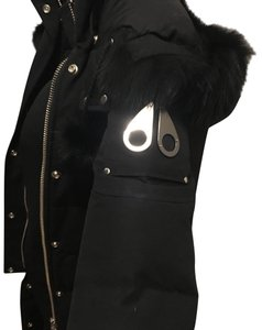 Moose Knuckles Fur Down Jacket Parka Coat