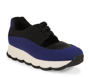 Prada Cut-out Neoprene Sneaker Sneaker Inchiostro(Blue)/Black Athletic