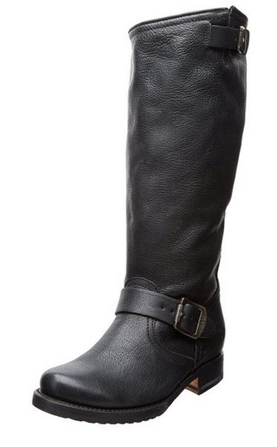 Item - Black Veronica Slouch - Extended Calf Boots/Booties Size US 10 Wide (C, D)