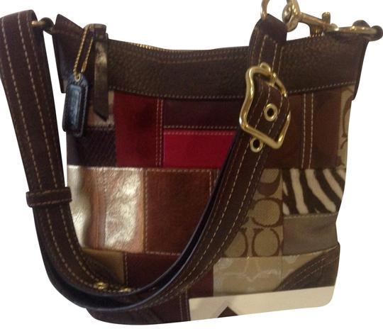 Preload https://item2.tradesy.com/images/coach-pursemulticolor-ptchwk-leatheradjstrap-patchwork-suede-leather-leather-material-tote-22717181-0-1.jpg?width=440&height=440