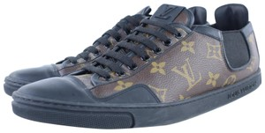 Louis Vuitton Damier Sneaker Line Up Brown Athletic
