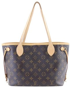 Louis Vuitton Small Neverfull Damier Neverfull Neverfull Mm Neverfill Neverfold Tote in Monogram