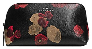 Coach COSMETIC CASE 17 IN HALFTONE LEATHER f 56001