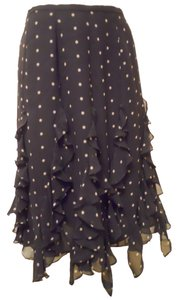 Kay Unger Skirt black & light tan