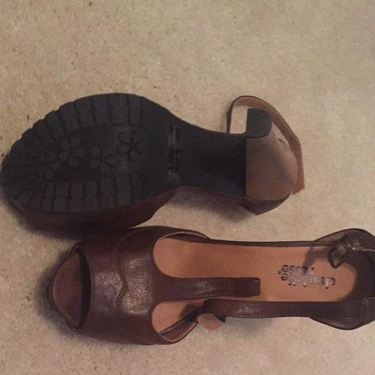 Charlotte Russe Brown Sandals