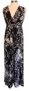 Black and white Maxi Dress by Chelsea & Theodore