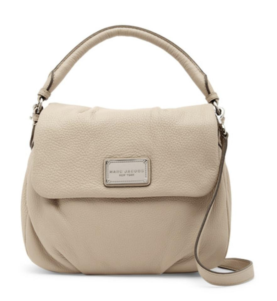 Marc Jacobs Leather Silver Hardware Suede Shoulder Bag