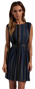 Alice + Olivia short dress Multi Stripe on Tradesy