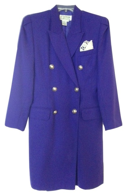 Item - Purple Collection Above Knee Work/Office Dress Size 6 (S)
