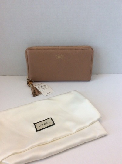 Gucci GUCCI NWT BAMBOO TASSEL ZIP AROUND CONTINENTAL WALLET ($635) W/TAX Image 1