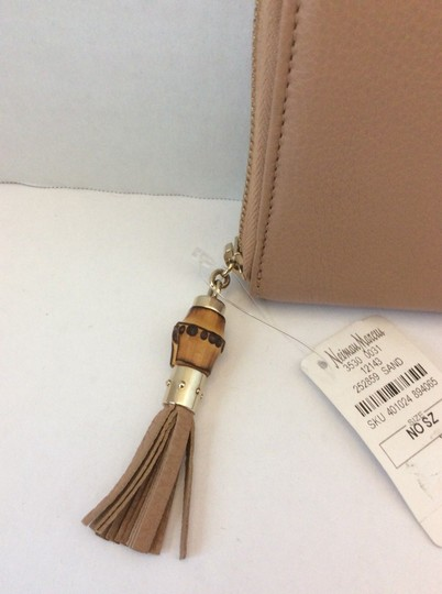 Gucci GUCCI NWT BAMBOO TASSEL ZIP AROUND CONTINENTAL WALLET ($635) W/TAX Image 4
