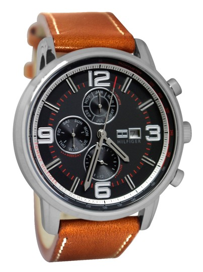 Tommy Hilfiger Tommy Hilfiger Men's 1710336 Casual Grey Dial Watch Image 0