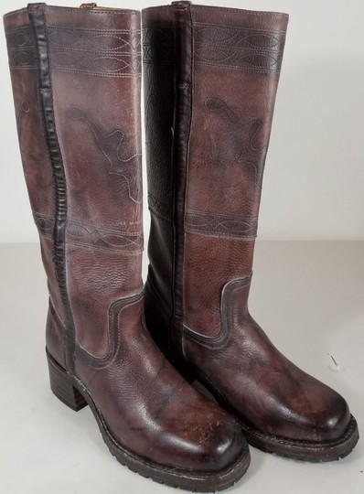 Frye Knee-high True To Size Pull In Usa Walnut Boots Image 1