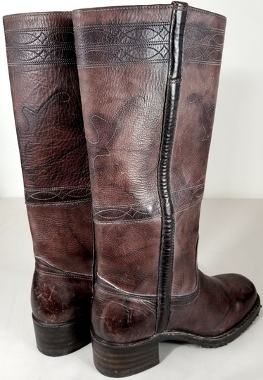 Frye Knee-high True To Size Pull In Usa Walnut Boots Image 3