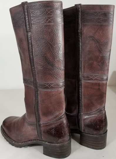 Frye Knee-high True To Size Pull In Usa Walnut Boots Image 4