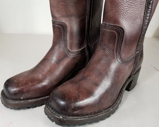 Frye Knee-high True To Size Pull In Usa Walnut Boots Image 5