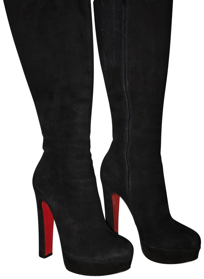 a0ef55e71c9 Christian Louboutin Black N. Boots Booties Size US 5 Regular (M