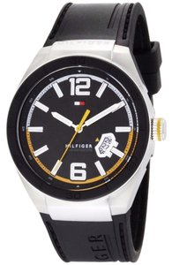 Tommy Hilfiger Tommy Hilfiger Men's 1790724 Logo Embossed Stainless Steel watch