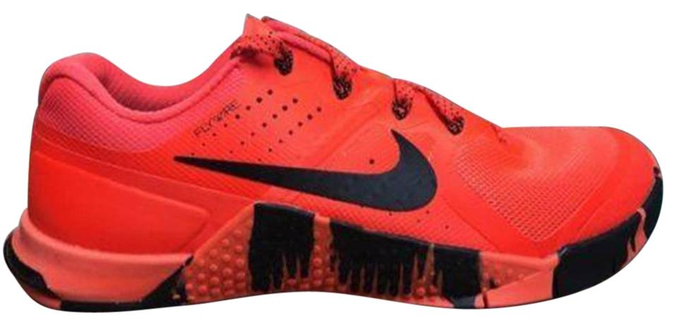 check out f7b1a bc66f Nike Metcon Cross Trainer Crossfit Weight Lifting red and black Athletic  Image 0 ...