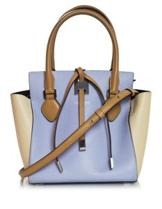 Michael Kors Tri-color Leather Tote in blue