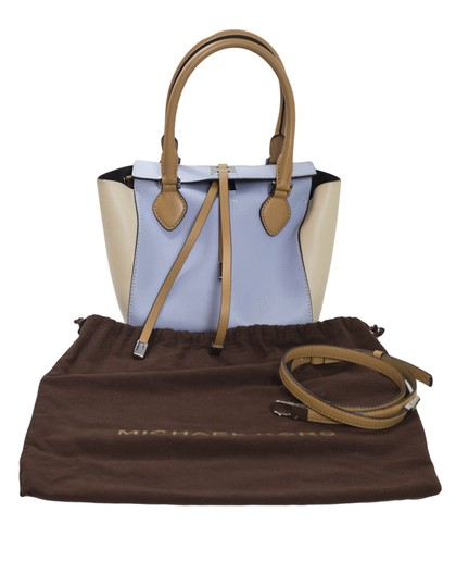 Michael Kors Tri-color Leather Tote in blue Image 11