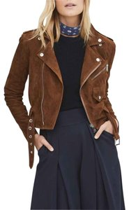 Ralph Lauren Classic All Seasons New Without Tag Suede Motorcycle Jacket