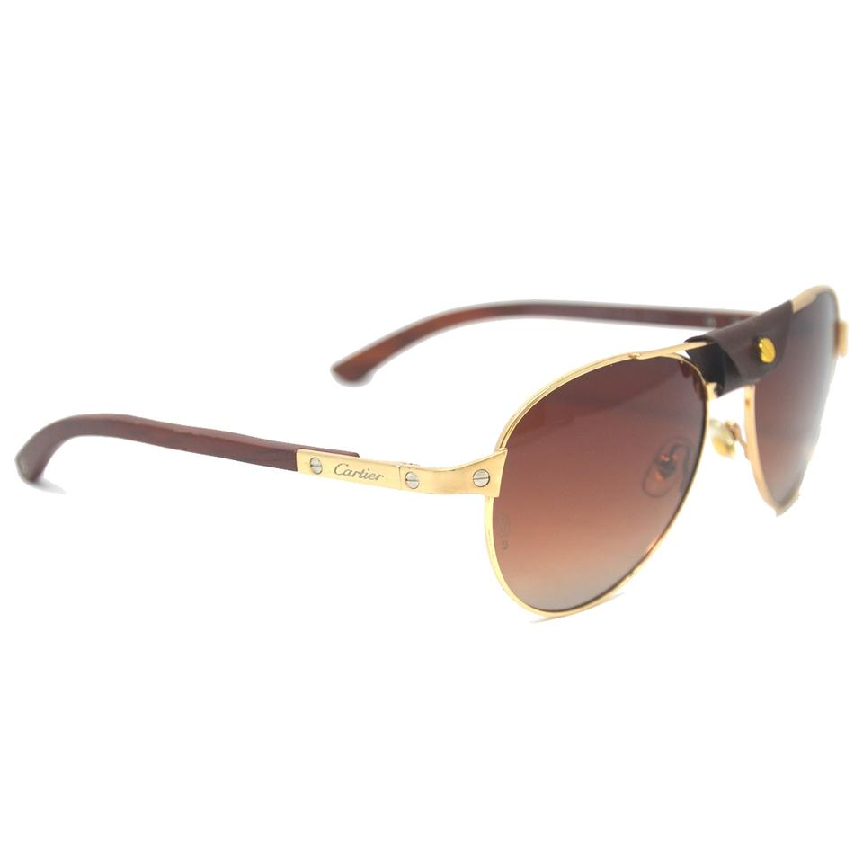 8a286b4bfea Cartier Santos Aviator Sunglasses « One More Soul