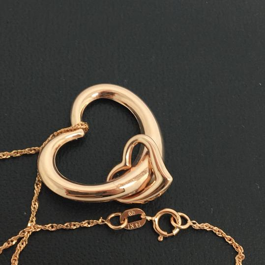 Other 14K Rose Gold Sideway Slide Pendant with Chain Image 3
